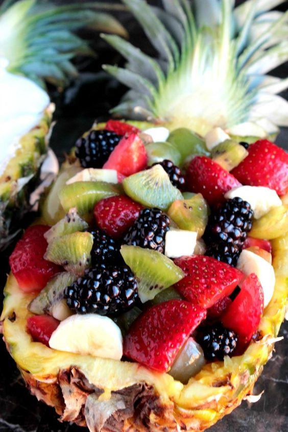 Fruit boat DIY